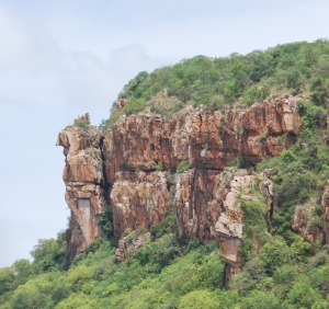 Hills in the form of of Garudaji, vehicle of Lord Vishnu