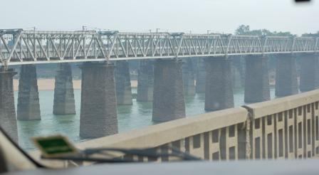 a railway bridge built over a century ago