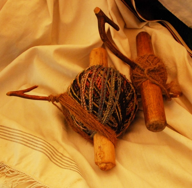 bobbins and textile