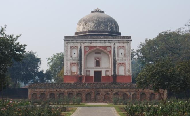 lakharwala burj and the rose garden