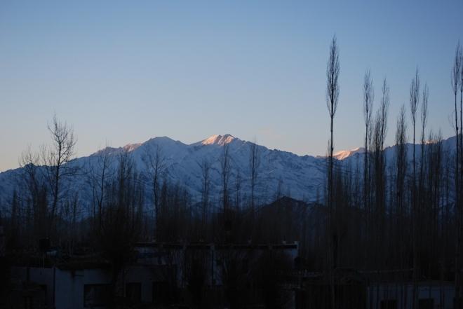 glowing peaks