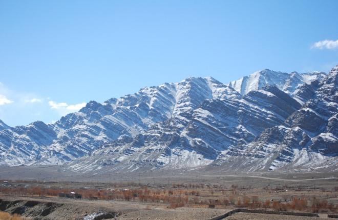 sedomented hills