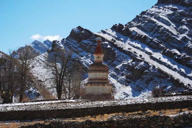 stupa and peak