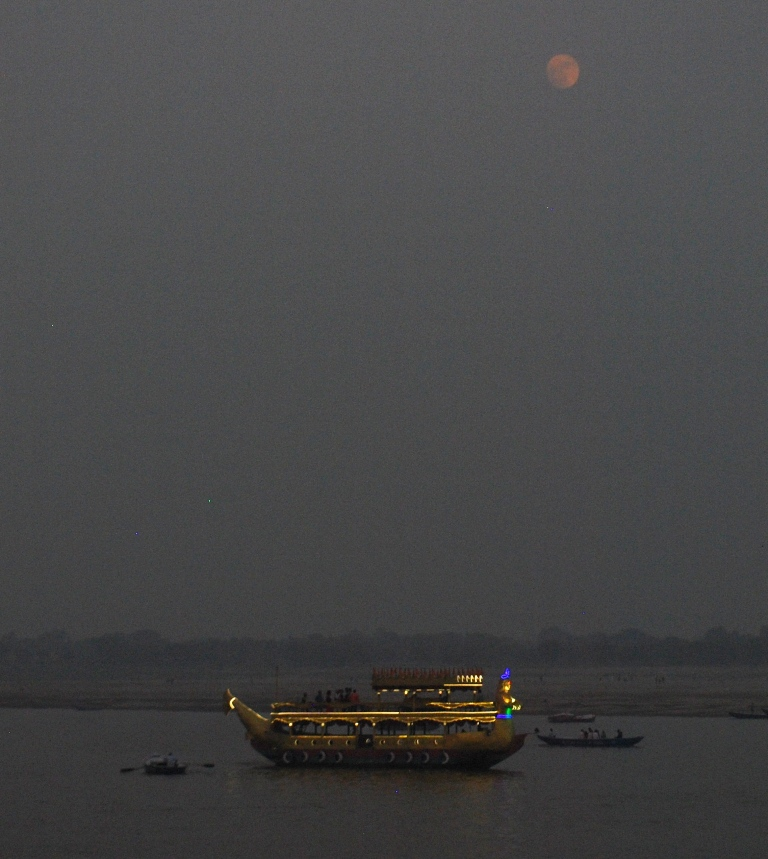 SUPER MOON  & DIWALI IN KASHI