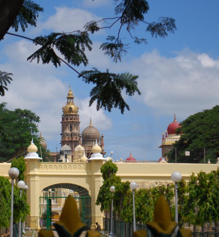 PALATIAL GATES &TREES